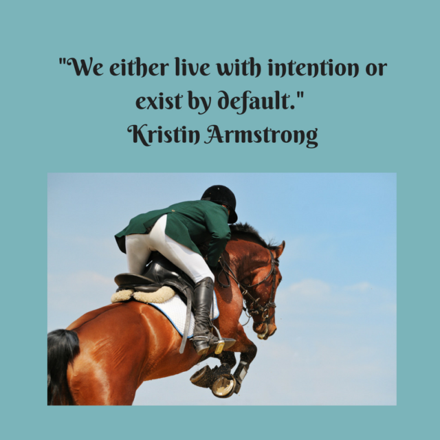 Riding With Intention