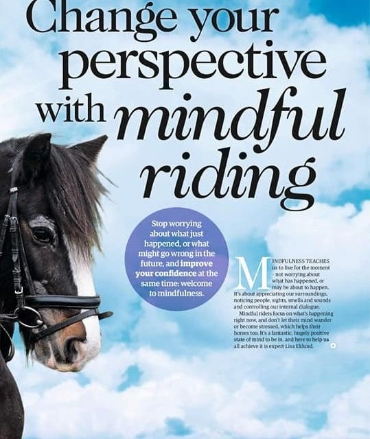 """Your Horse""  Magazine Interview ""Change Your Perspective With Mindful Riding"""